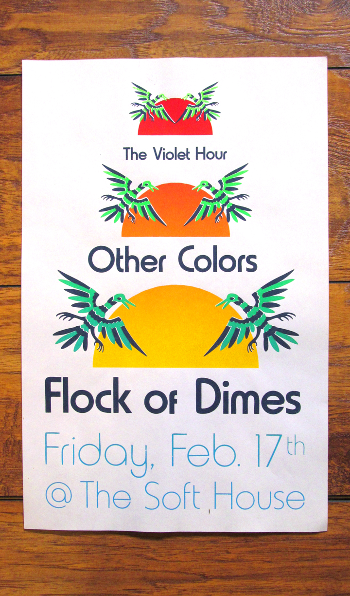 Flock of Dimes | Other Colors | The Violet Hour: The Soft House 2.17.12
