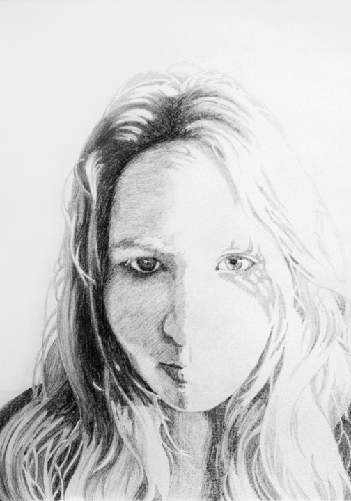 Portrait   pencil on heavyweight rag paper