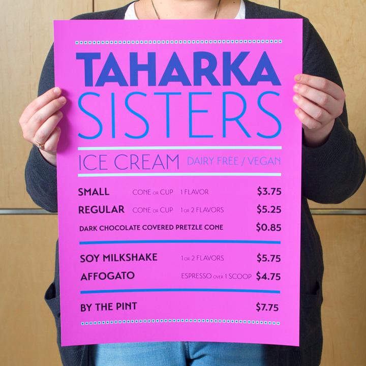 TAHARKA SISTERS Menu