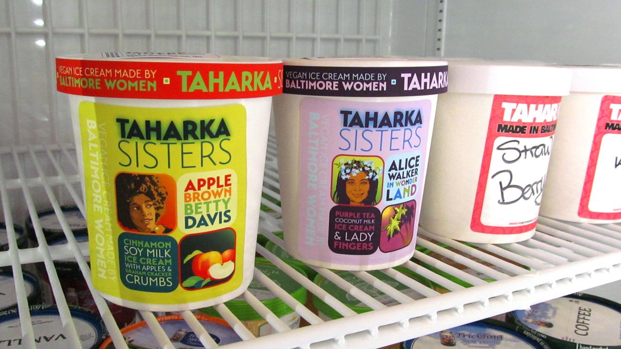 Taharka Pints in the Freezer