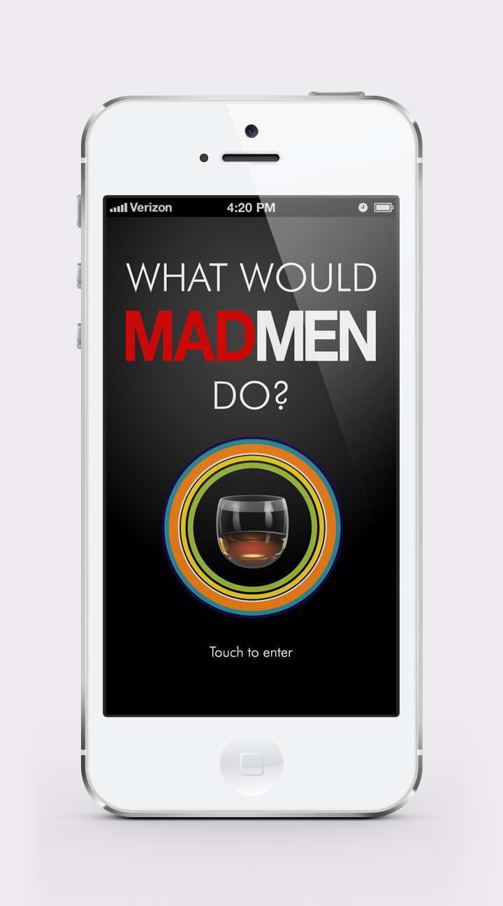 What Would Mad Men Do? | INTRO screen