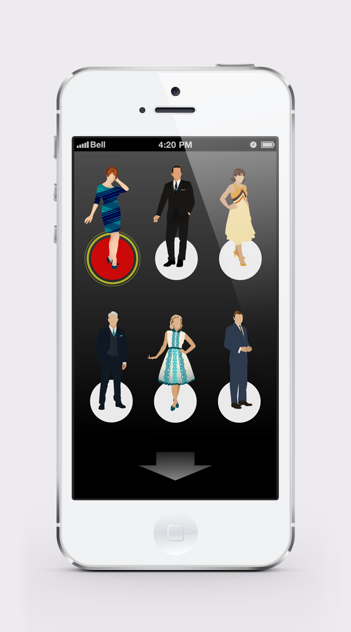 What Would Mad Men Do? | HOME screen