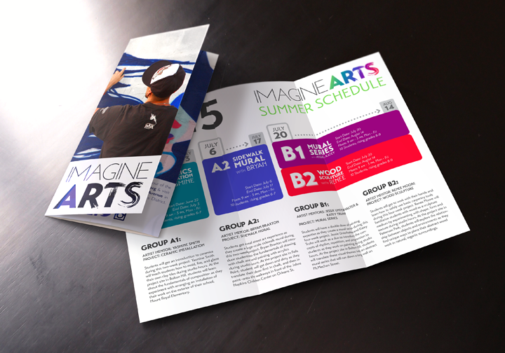 imagineARTS Brochure & Summer Schedule