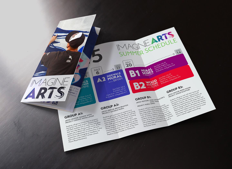 imagineARTS Brochure & Summer Schedule