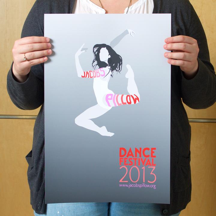JACOB'S PILLOW Poster | Gray